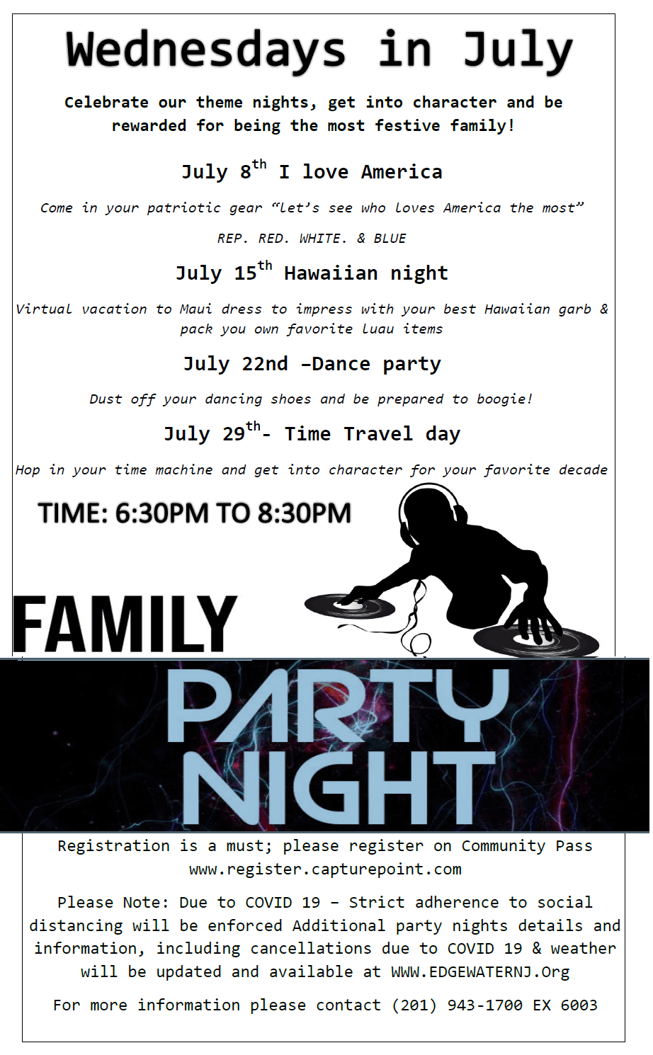 family party night
