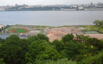 Veterans Field from Ft Lee