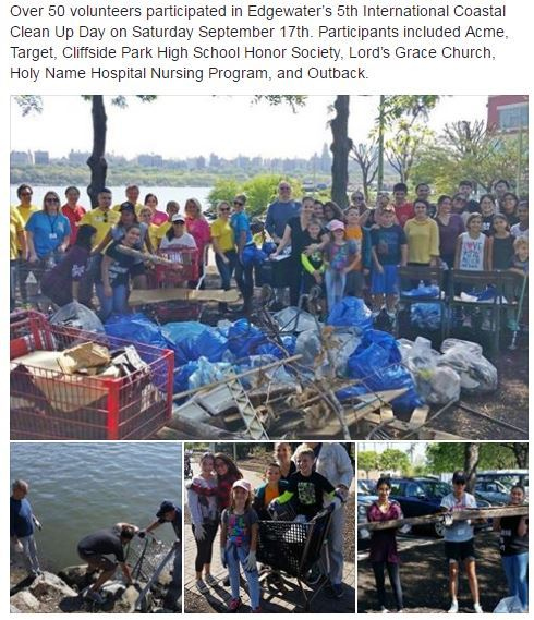 coastal clean up 2016